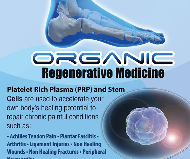 Benefits of Stem Cells - Organic Regenerative Medicine Platelet Rich Plasma PRP and Stem