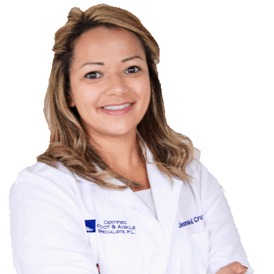 Dr. Jasmin Cruz - foot and ankle specialist